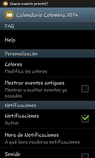 Calendario Feriados Colombia 生產應用 App-愛順發玩APP