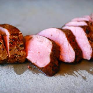 Sous Vide Pork Tenderloin.