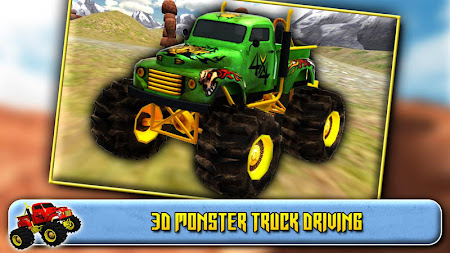 3D Monster Truck Driving 1.6 screenshot 41577