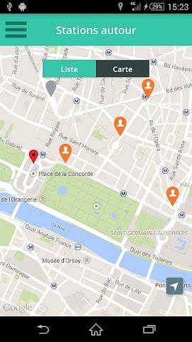 Screenshot 2 Paris Taxis - pro