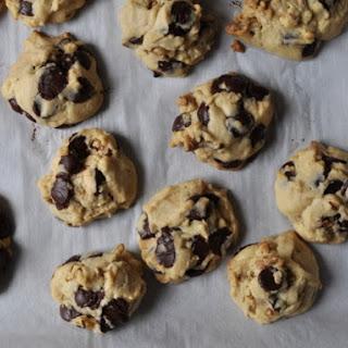 Chunky Chocolate Chip-Walnut Cookies.