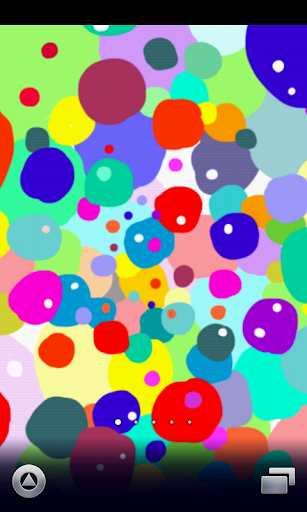 messy colorful wallpaper