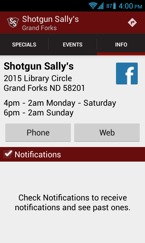 Shotgun Sally's - Grand Forks - screenshot