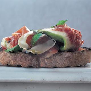Crostini - Prosciutto, Figs & Mint Recipe