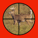 Whitetail Buck Hunter Crossing icon