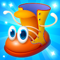 Boots Games for Kids 3-5 years icon
