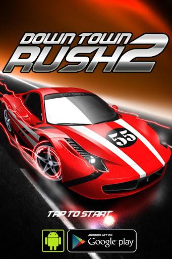 Car Race : Down Town Rush 2