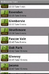 Melbourne Train - screenshot thumbnail