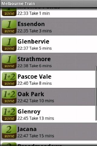 Melbourne Train - screenshot