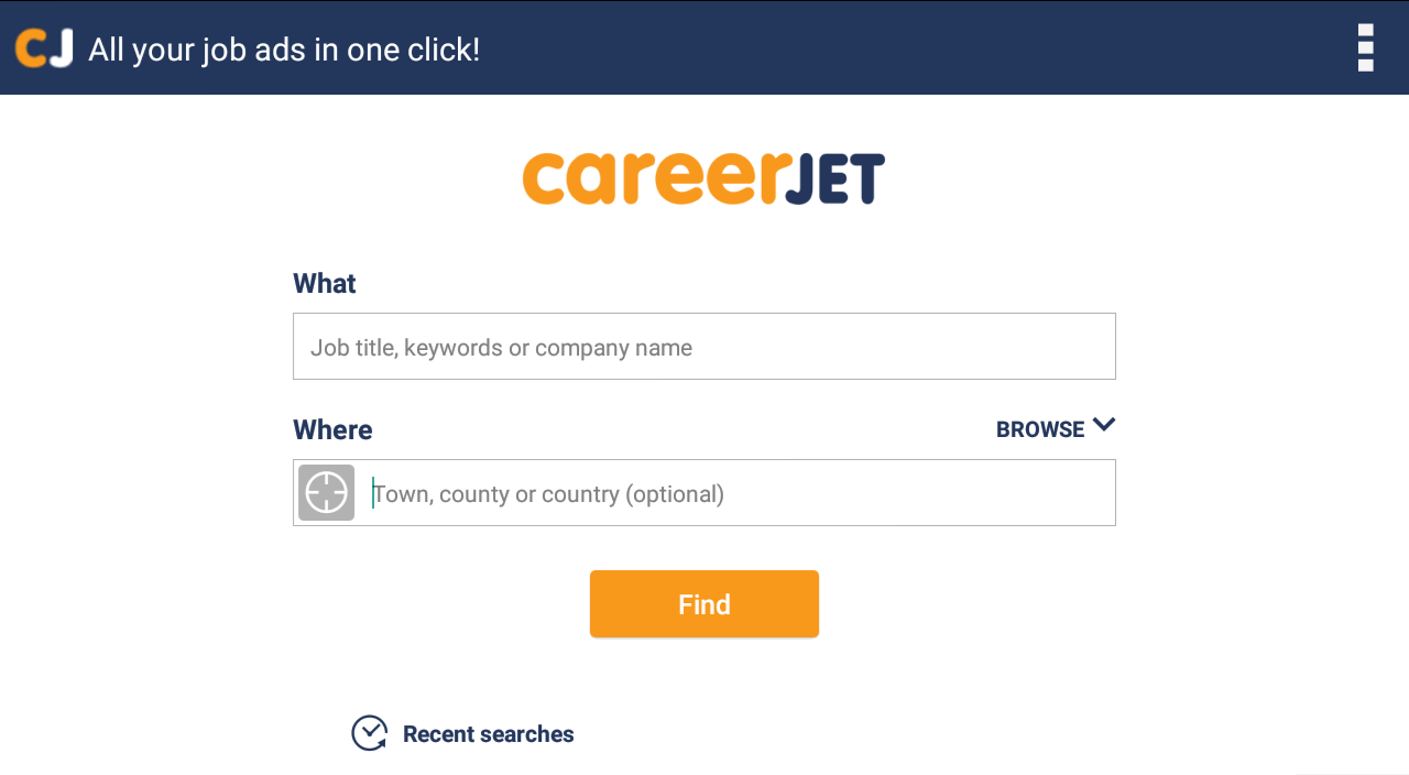 Jobs - Job Search - Careers- screenshot