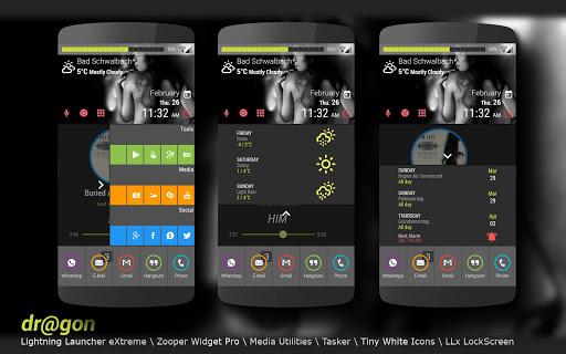 【免費個人化App】dr@gon LLX Theme\Template-APP點子