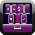Purple Keyboard icon