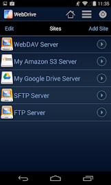 WebDrive, File Transfer Client Screenshot 2