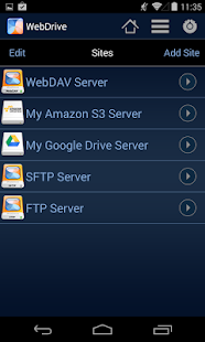 WebDrive, File Transfer Client Screenshot 2