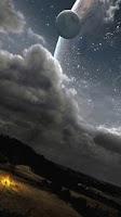 Screenshot of Alien Worlds Live Wallpaper