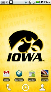 Iowa Hawkeyes Revolving WP - screenshot thumbnail