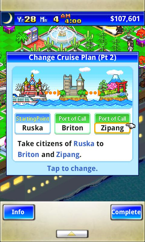 World Cruise Story Screenshot 6