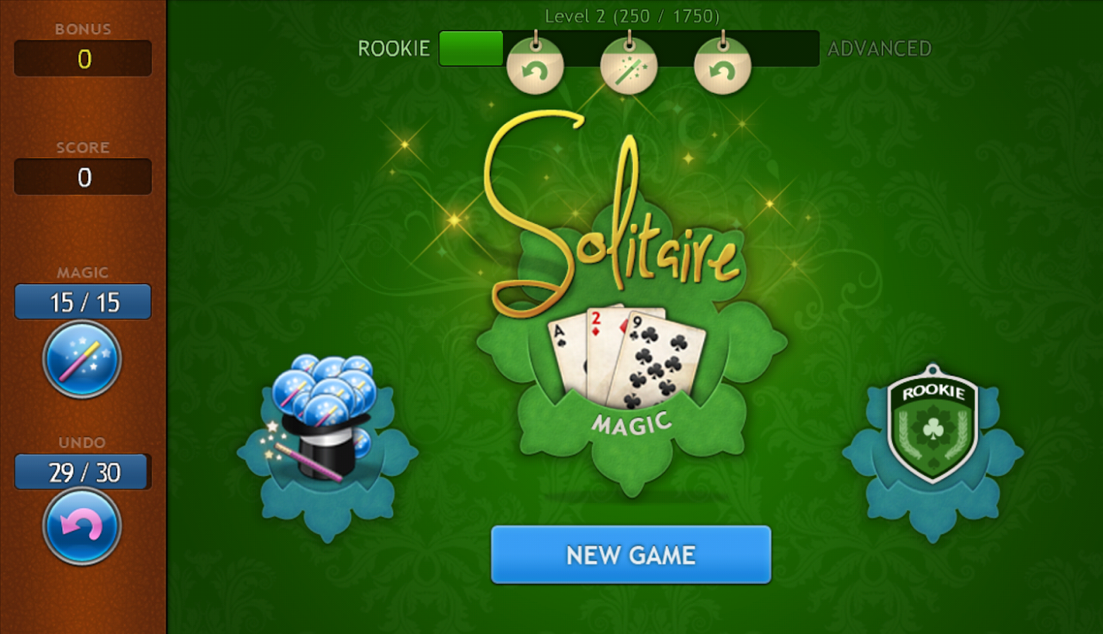 Solitaire Magic- screenshot