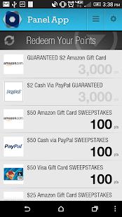 Panel App - Prizes & Rewards- screenshot thumbnail
