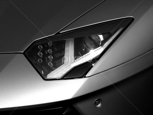 Lamborghini Aventador LP700-4 Headlight. | Automobiles ...