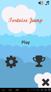 Tortoise jump for Android screenshot 1