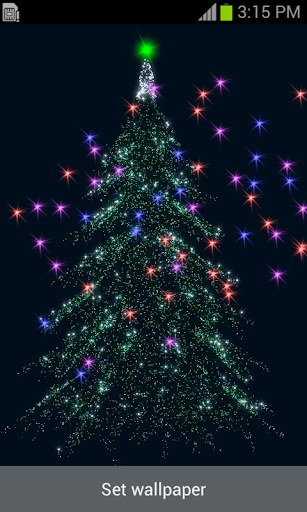 Rotating Christmas Tree LWP