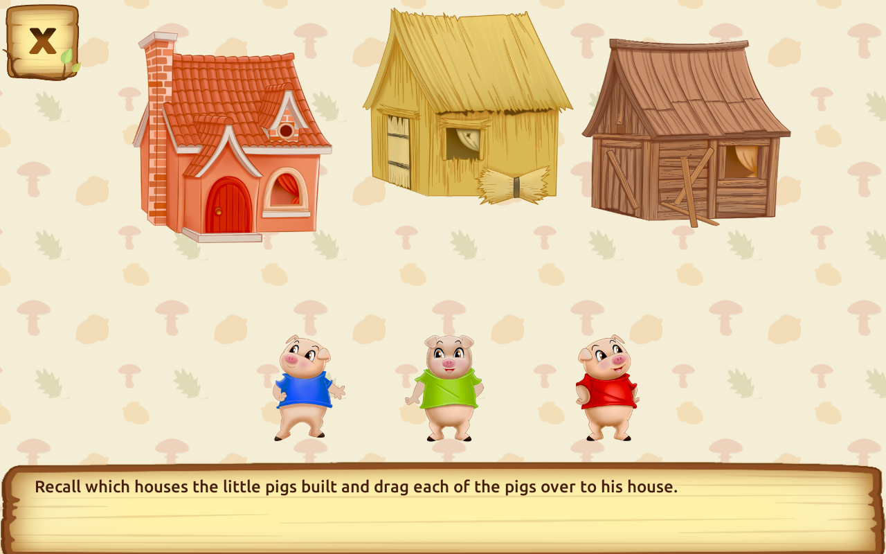 Uncategorized The Three Little Pigs Story For Children three little pigs for kids 3 5 android apps on google play screenshot