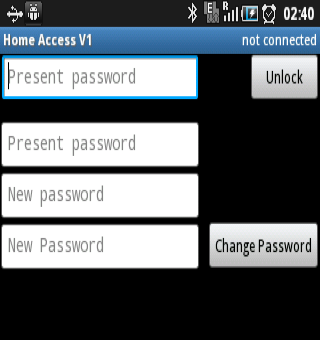 HomeAccessApp- screenshot
