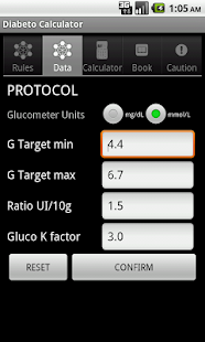 DIABETooL Insulin Calc- screenshot thumbnail