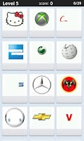 Screenshot of Logo Quiz -select 1 in 4 keys