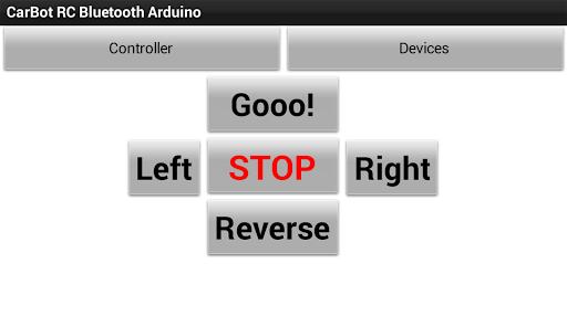CarBot RC Bluetooth Arduino