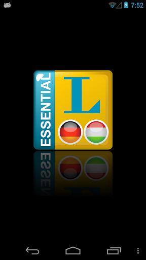 Essential Ungarisch