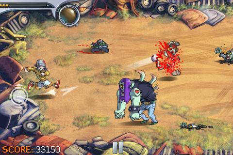 Pro Zombie Soccer Demo screenshot #2
