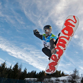 Jump by Alexis Courthoud - Sports & Fitness Snow Sports ( snowboard, trentino, mountain, vda, snow, sport, universiadi )
