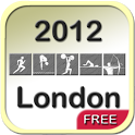 2012 London Medal Tracker Free icon
