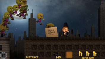 Screenshot of Yikes! Zombies! Run! 2