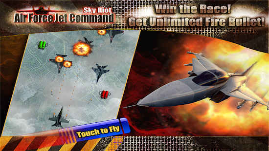 Sky Riot Air force Jet Command - screenshot thumbnail