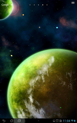 Real Space HD Live wallpaper