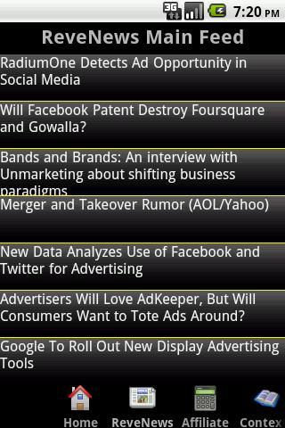 ReveNews- screenshot