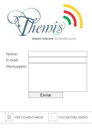 Rádio Themis - TJ RS - screenshot