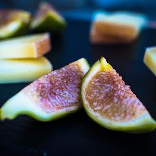 Figs with Pecorino Cheese & Honey