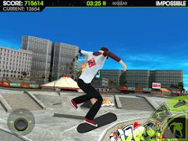 Screenshot of Skateboard Party 2