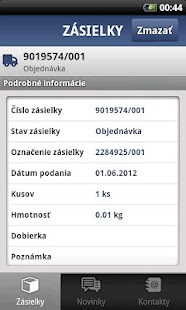 TOPTRANS SK – miniatúra snímky obrazovky