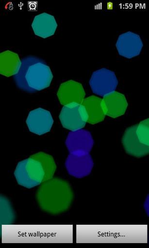 Spots 3D Live Walpapper