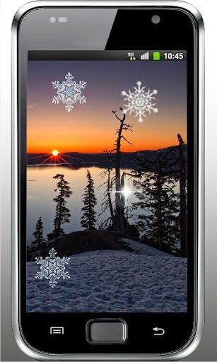 Winter Sunset Live Wallpaper