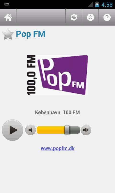 Dansk Radio (Denmark) - screenshot