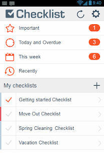 Checklist: To Do Task Lists