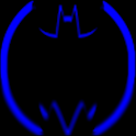 Blue Batcons Launcher Icons icon