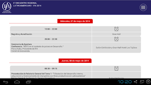 IFA Bolivia 2014 screenshot 5