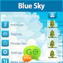 GO SMS Blue Sky Theme icon